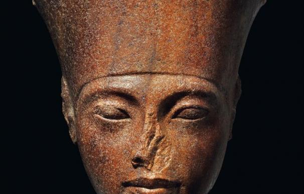Busto de Tutankamón que fue subastado por 5,1 millones de euros. / EFE