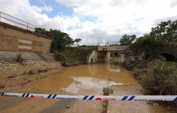 Inundaciones en Navarra - EP
