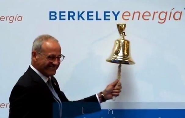 El consejero delegado de Bekerley Energía, Paul Atherley, en su debut en Bolsa