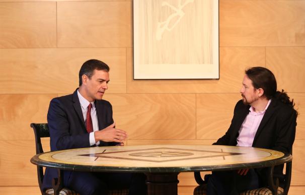 Sánchez activa el modo elecciones y carga contra Iglesias para hundirle en las urnas