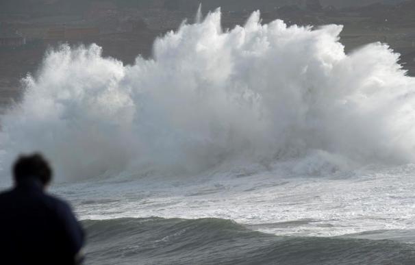 Temporal, mar, viento, olas