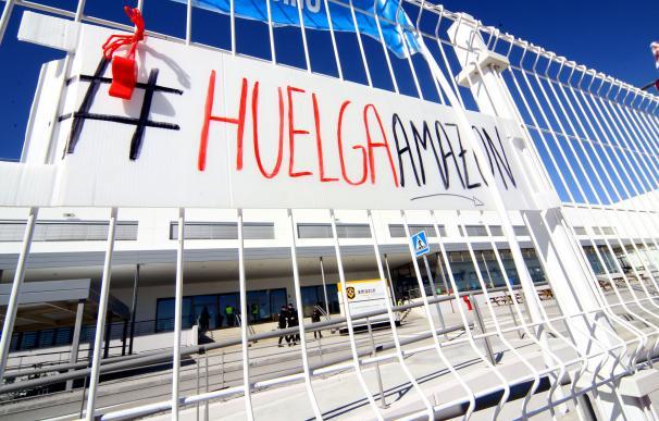 Fotografía Amazon huelga