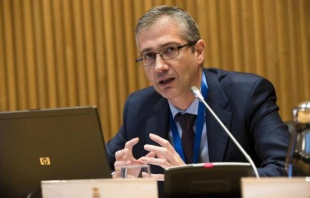 Pablo Hernández de Cos, gobernador del Banco de España. /EFE