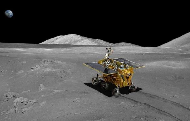 La sonda Chang'e 4 logró posarse en la cara oculta de la Luna