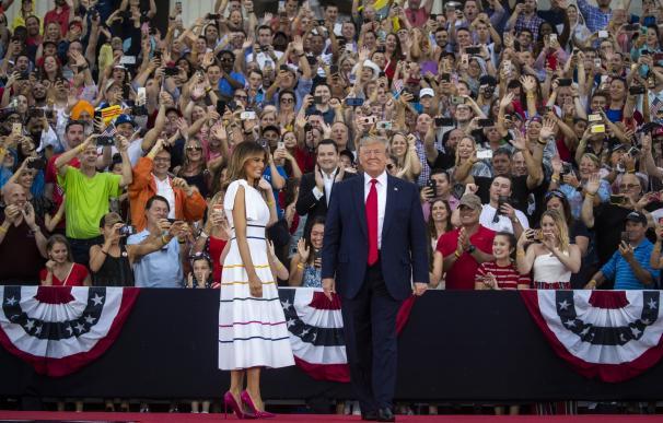 """Trump asegura que EEUU """"es ahora más fuerte que nunca"""""""