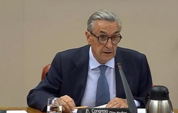 El presidente de la CNMC, José María Marín Quemada, en el Congreso