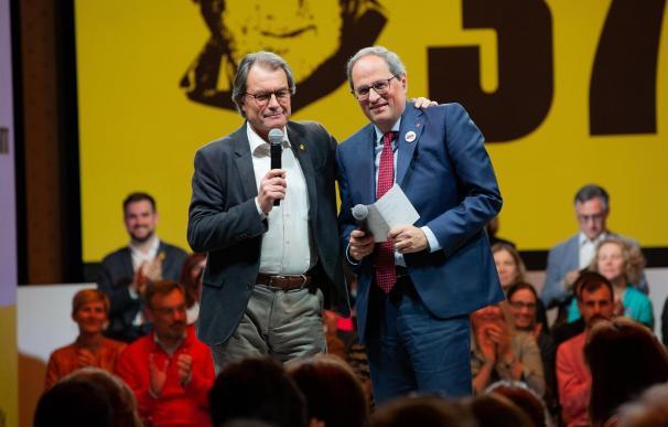 Artur Mas y Quim Torra