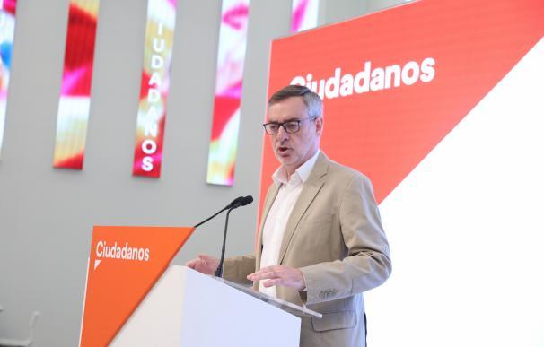 Secretario general de Ciudadanos, Juan Carlos Girauta