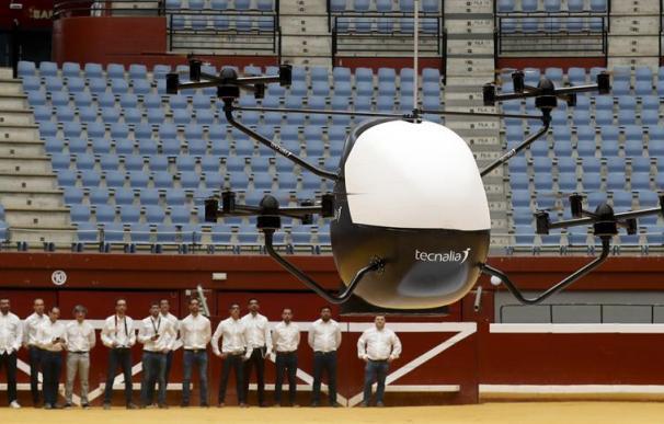 Aerotaxi, primer prototipo de España