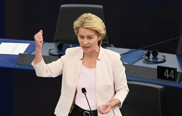 Ursula von der Leyen, nueva presidenta del Parlamento Europeo