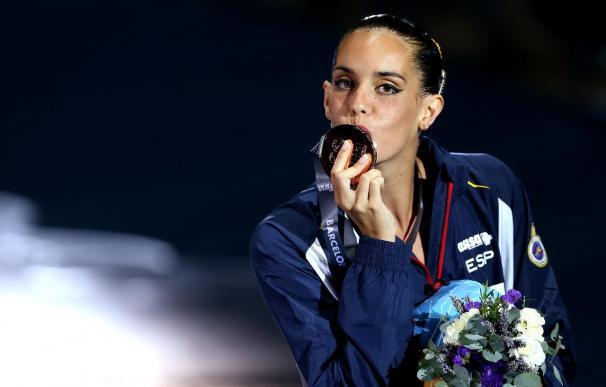 Ona Carbonell, bronce en solo técnico, inaugura el medallero español