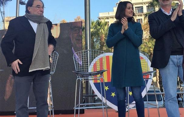 Francesc de Carreras; Inés Arrimadas, José Manuel Villegas (Cs)