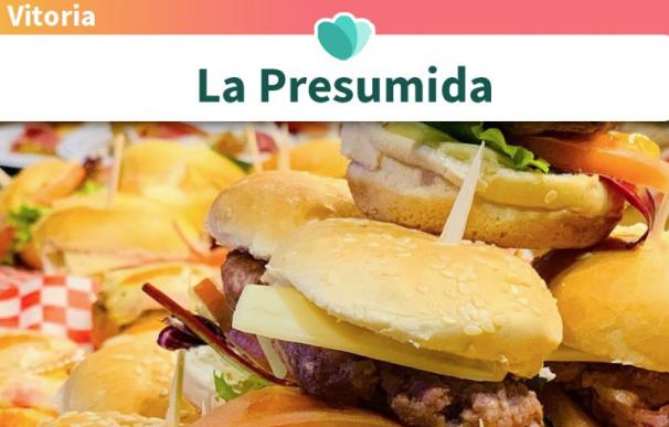 Fotografía de la hamburguesería 'La Presumida' en Vitoria.