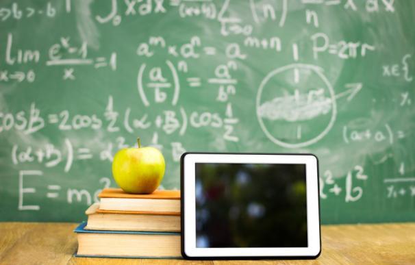 Libros y tablet