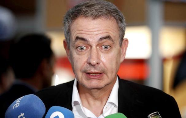 Zapatero ha rechazado alcanzar pactos con Bildu. / EFE
