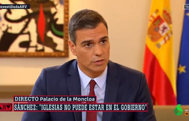 """Sánchez veta a Iglesias en el Consejo de Ministros: """"Habla de presos políticos"""""""