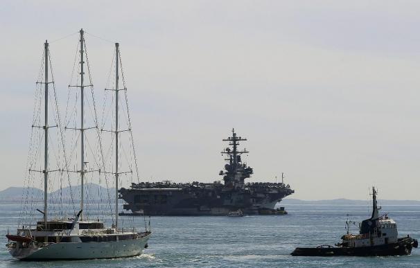 EE.UU. envía un portaaviones al Golfo Pérsico ante la crisis en Irak