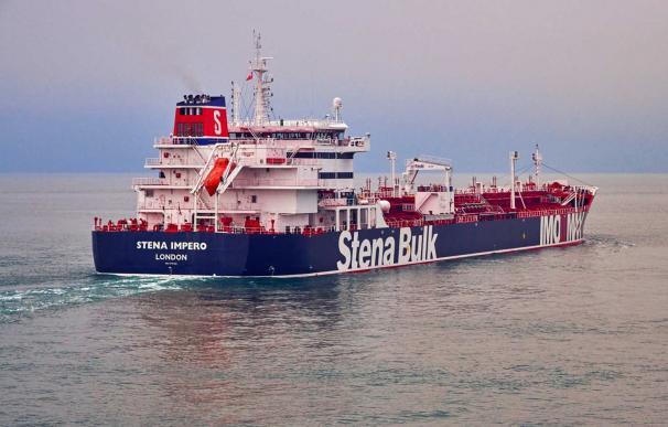 El petrolero británico Stena Impero, retenido en Irán. /Stena Bulk