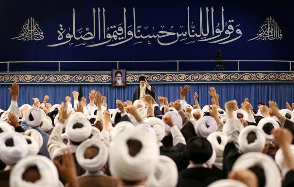 El ayatolá Ali Khameini, líder supremo de la República Islámica de Irán.