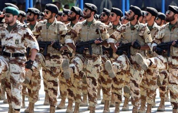 Fuerzas del Cuerpo de Guardianes de la Revolución Islámica de Irán. /EFE