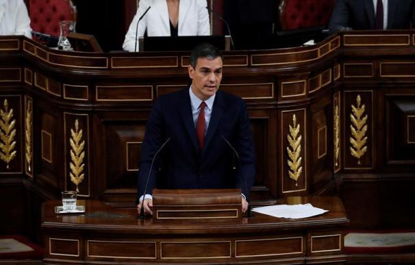 Pedro Sánchez debate de investidura