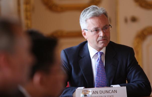 Alan Duncan, secretario de Estado de Exteriores para América, Europa, Asia Central y la OTAN