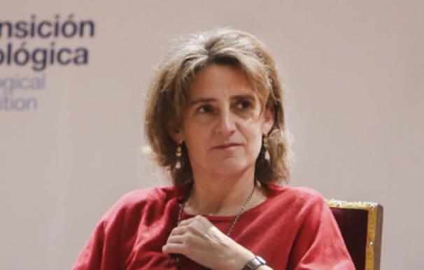 Teresa Ribera ancha apoyo