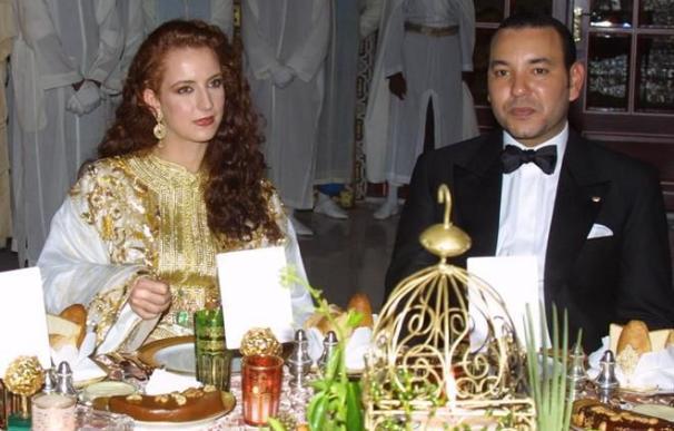 Mohamed VI de Marruecos y Lalla Salma
