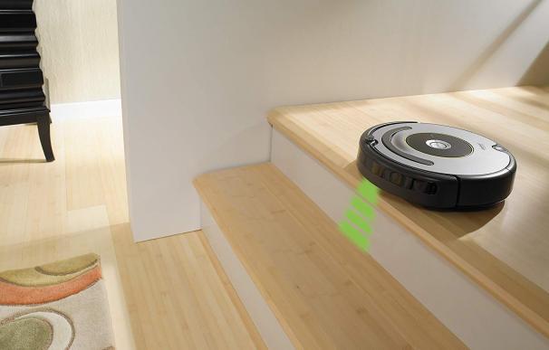 Fotografía del iRobot Roomba 615.
