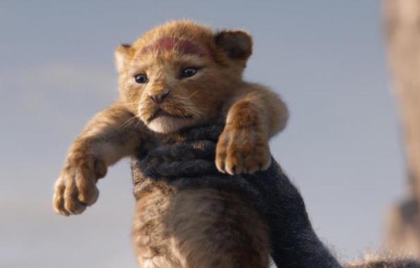 Un fotograma de la película 'El Rey León' (2019)