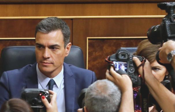 Pedro Sánchez alta