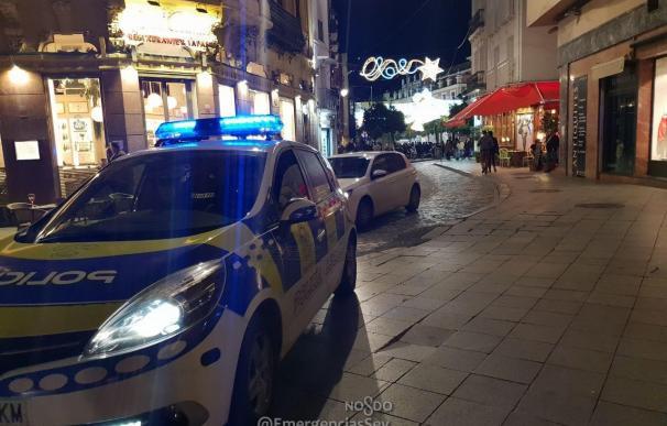Coche de la Policía Local de Sevilla