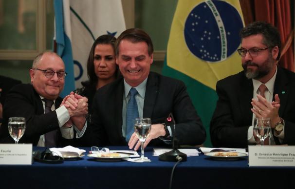 Jair Bolsonaro está de visita oficial en Argentina.