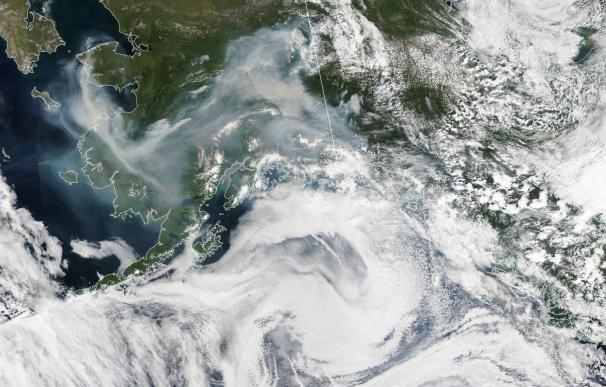 Los efectos de los incendios en Alaska. / NASA