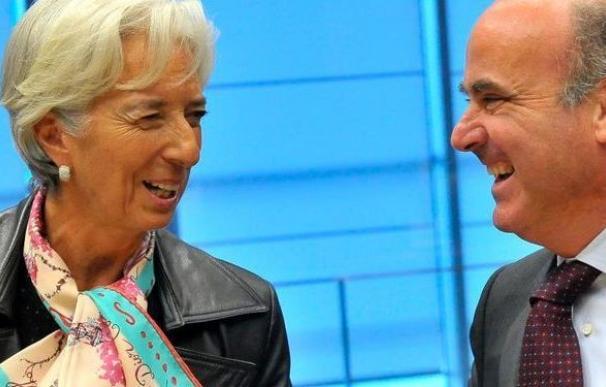 Lagarde y Guindos.
