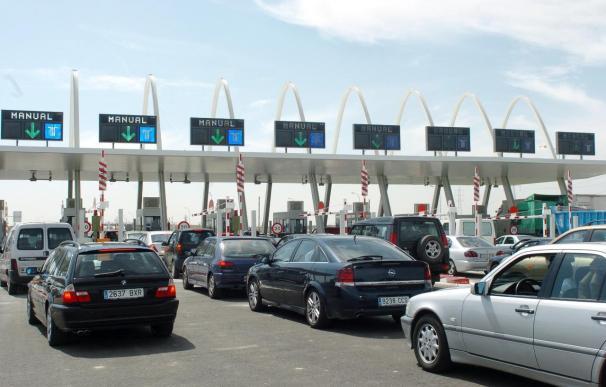 El tráfico en las radiales de Madrid cae un 48 por ciento, con todas en concurso