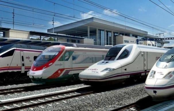Fotografía catálogo de trenes de Renfe / Renfe