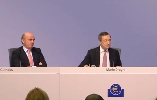 Rueda de prensa del BCE.