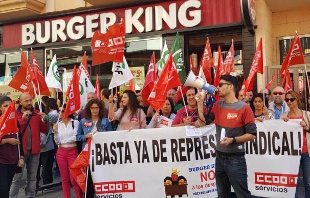 Burguer King protestas