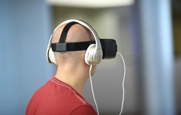 Imagen de archivo de gafas VR