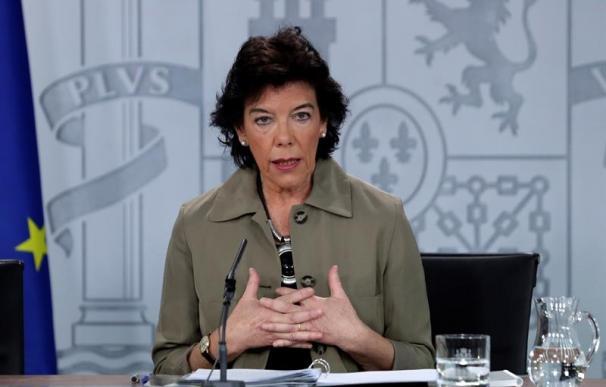 Isabel Celaá, Consejo de Ministros