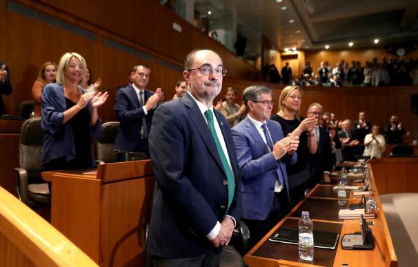 Lambán investido en Aragón