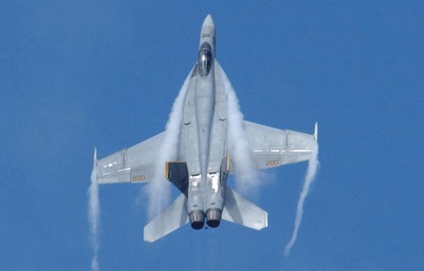 El caza F/A-18E se estrelló cerca de su base en California. / Boeing