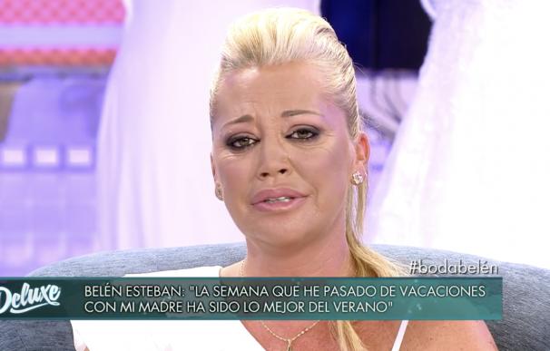 Belén Esteban hablando de su boda en 'Sábado Deluxe'