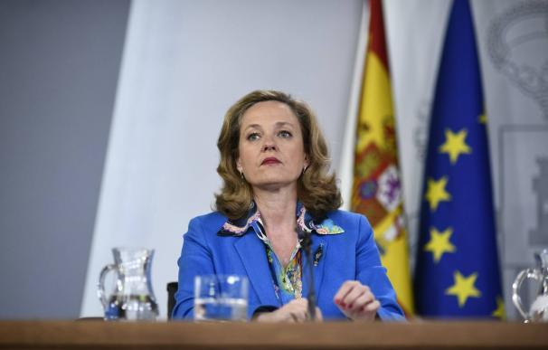 La ministra de Economía, Nadia Calviño. / EFE