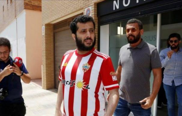 Turki Al-Sheikh, nuevo propietario del Almería. /Unión Deportiva Almería