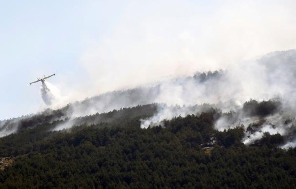 Incendio San Ildefonso