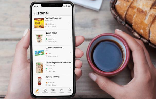 Yuka, la app que pone nota a los alimentos