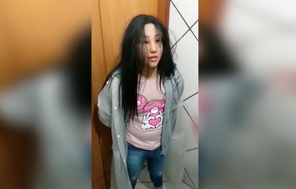Un narco brasileño intenta fugarse disfrazado de su hija