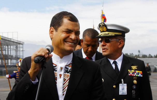 Rafael Correa se reunió con Fidel y Raúl Castro en La Habana